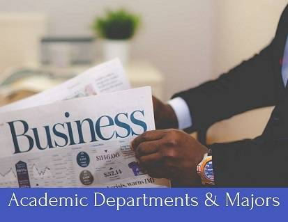 Academic Departments & Majors